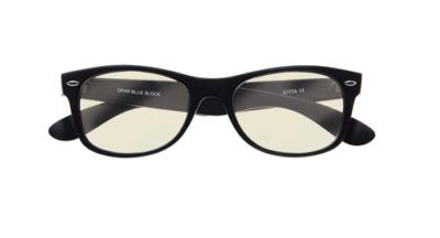 Computerbril blueblock extra sterke glazen voorkant