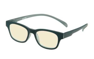 Blueblock Computerbril Zwart op sterkte
