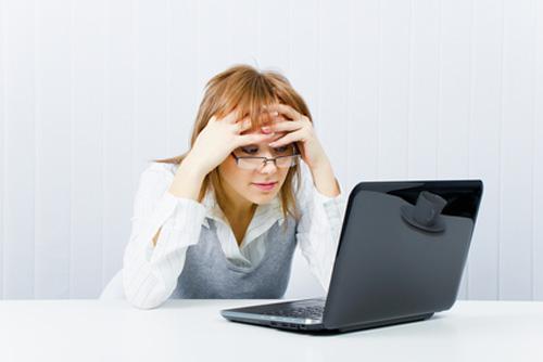Computerbril tegen vermoeide ogen