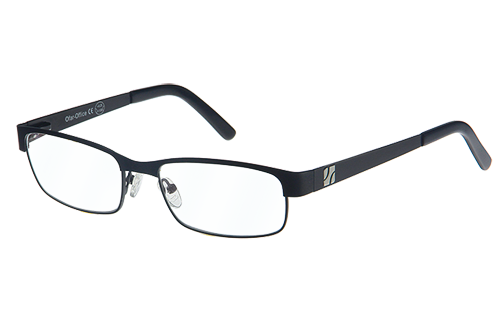 Multifocale Computerbril Zwart montuur